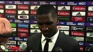 Dodo e Zapata post Milan vs Roma