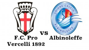 Prepartita Pro Vercelli vs Albinoleffe