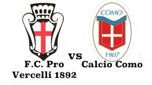 Prepartita Pro Vercelli vs Como