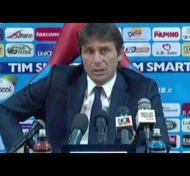 FC JUVENTUS: Conf. Conte post Catania