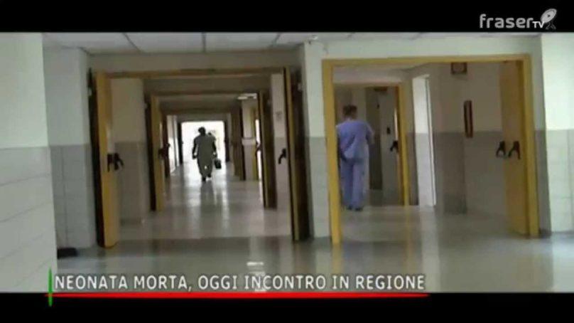 NEONATA MORTA, OGGI INCONTRO IN REGIONE