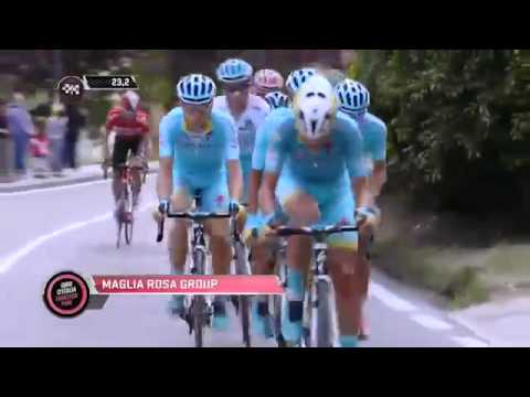Giro d'Italia 2015 Stage 15 Tappa 15 highlights