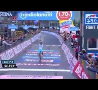 Giro d'Italia 2015 Stage 20 Tappa 20 highlights