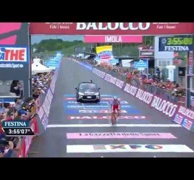Giro d'Italia 2015  Stage 11 /  Tappa 11 highlights