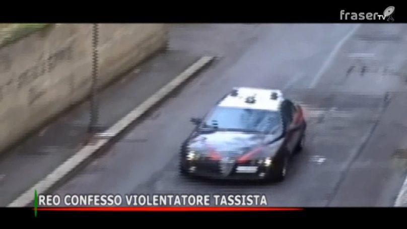 Reo confesso violentatore tassista