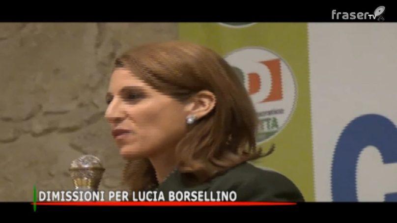 Dimissioni per Lucia Borsellino