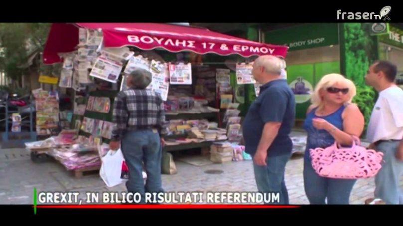 Grexit in bilico risultati referendum