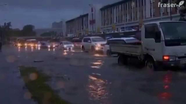 Il super tifone Goni arriva nell'estremo oriente russo