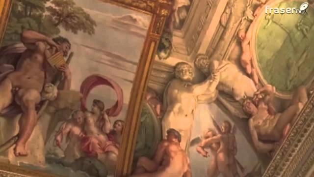 Torna a risplendere la galleria dei Carracci di Palazzo Farnese