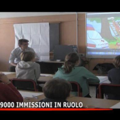 Scuola, 9000 immissioni in ruolo
