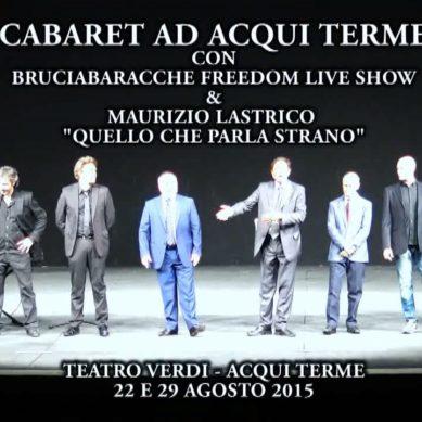 Gli eventi dell'estate 2015 organizzati dal comune di Acqui Terme