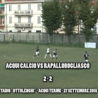 Acqui Calcio vs RapalloBogliasco sintesi e interviste