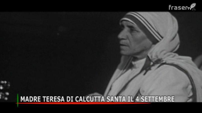 Madre Teresa di Calcutta Santa il 4 settembre