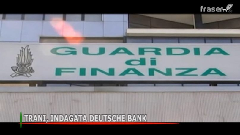 Trani, indagata Deutsche Bank