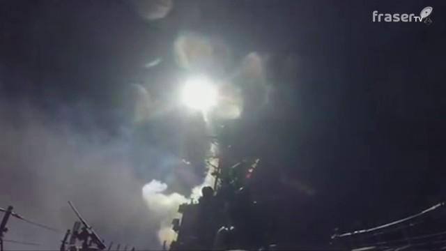 Missili Usa sulla base siriana di Homs. Trump risponde alla strage con i gas