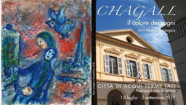 """ACQUI TERME: Speciale inaugurazione Mostra """"Chagall il colore dei sogni"""""""