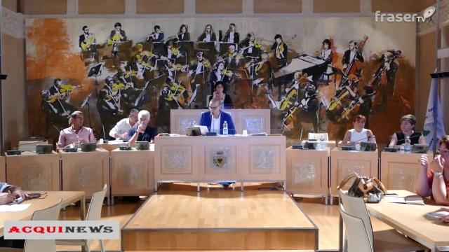 ACQUI NEWS: Speciale prima seduta del nuovo consiglio comunale