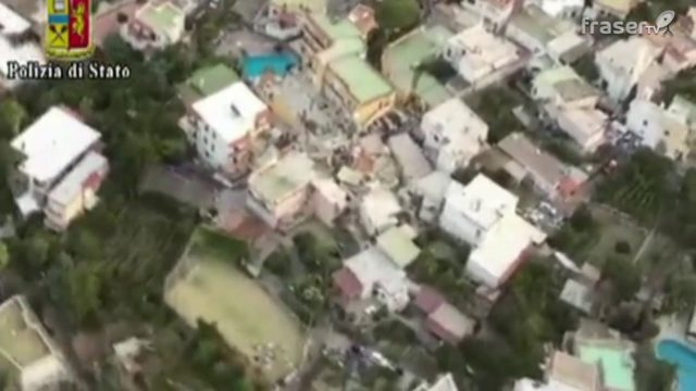 Terremoto ad Ischia..VIDEO