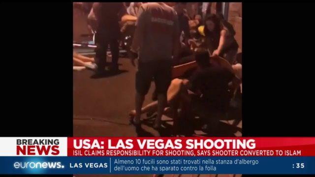 euronews in diretta..e sulla sparatoria a Las Vegas…Video