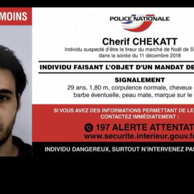 Strasburgo  polizia uccide Chérif Chekatt, l'Isis rivendica